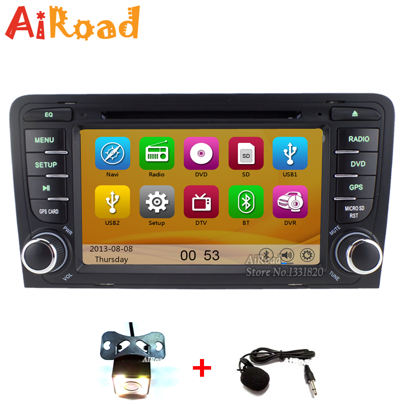 HD 1080P Car Headunit for Audi Audi A3 S3 RS3 GPS Navigation Multimedia Central DVD Radio Stereo Audio iPod Player 10 Band EQ(China (Mainland))