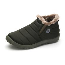 Size35-48 Mujeres Impermeables Zapatos de Invierno Pareja Unisex Botas de Nieve Caliente de la Piel Dentro de Madre Inferior Antideslizante Mantener Caliente Casual Botas(China (Mainland))