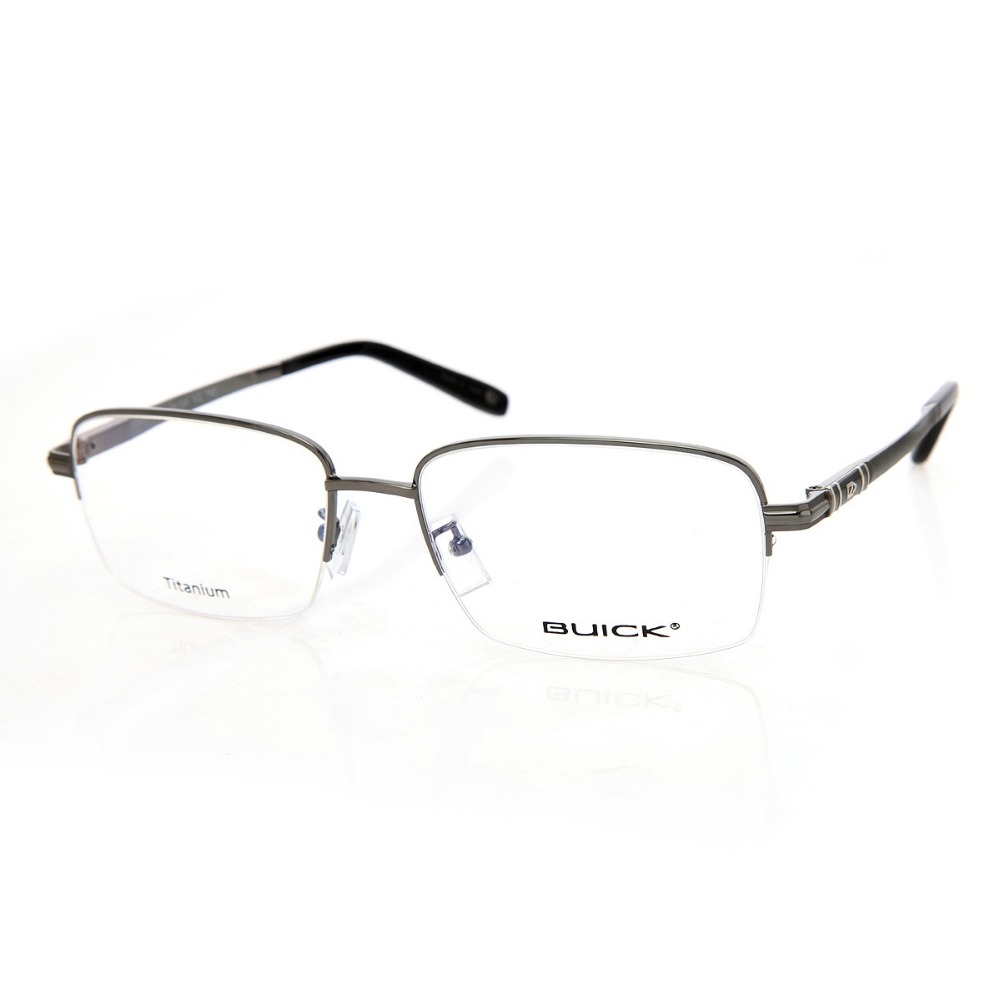 Здесь можно купить  BUICK 2016 clear glasses women casual luxury brands glass titanium half frame retro myopia eyeglasses frames Oculos de grau  Одежда и аксессуары
