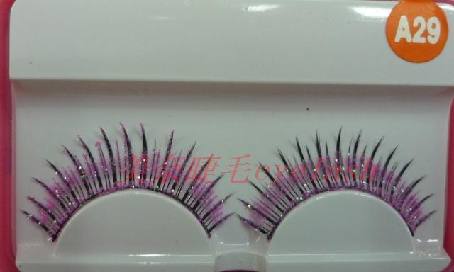 eyelash extensions False eyelashes natural nude makeup lengthening eyelash black ma29 10 powder human hair