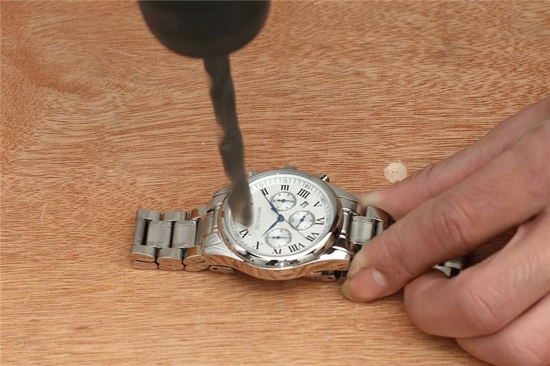 Повседневная Наручные часы Мужчины Бизнес GUANQIN Марка Кожа и Нержавеющая Сталь Аналоговый Дата Кварц Человек Часы мужские 2016 Relojes Hombre