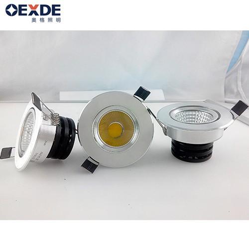 modern design light bulb 5w COB spotlight bulb 75mm cut-out hot sale in china market led spot downlight(China (Mainland))
