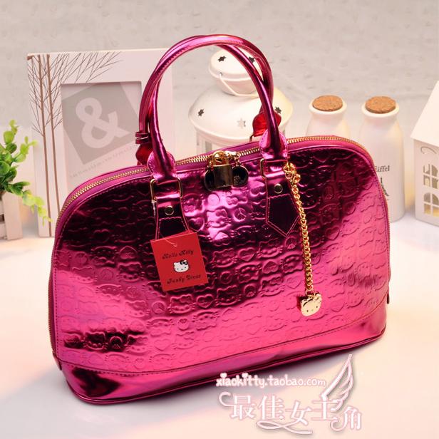 Sanrio Hello Kitty Women Travel Bags Women Handbag Shopping Bag Women Tote Handbags Women Famous Brands(China (Mainland))