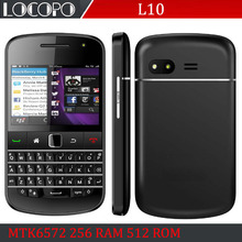"""Cheapest TIGER L10 2.6"""" Touch Screen & QWERTY Keyboard Phone MTK6572 Dual Core Android 4 320*480 GSM Cheap smart Cell PHone(China (Mainland))"""