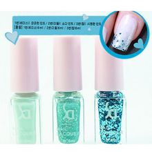 6ML Fashion 12 Colors Optional Gel Polish 3pcs/set Nail Polish Set Soak Off UV Nail Gel Long Lasting Gorgeous Colors(China (Mainland))