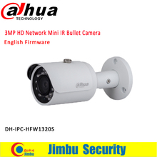 Buy Original DAHUA 3MP IP camera IPC-HFW1320S Bullet IR 30M 1080P Waterproof outdoor full HD POE CCTV Network camera can updated for $66.00 in AliExpress store