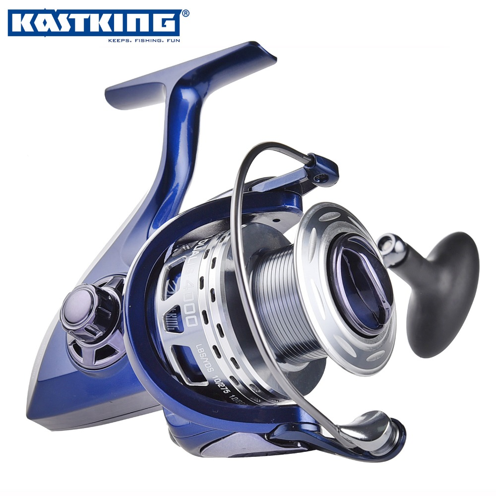 KastKing New Dual Speed Fishing Spinning Reel 4000 5000 10+1BB High-profile Upscale Boutique Spinning Reel Fishing Reels(United States)