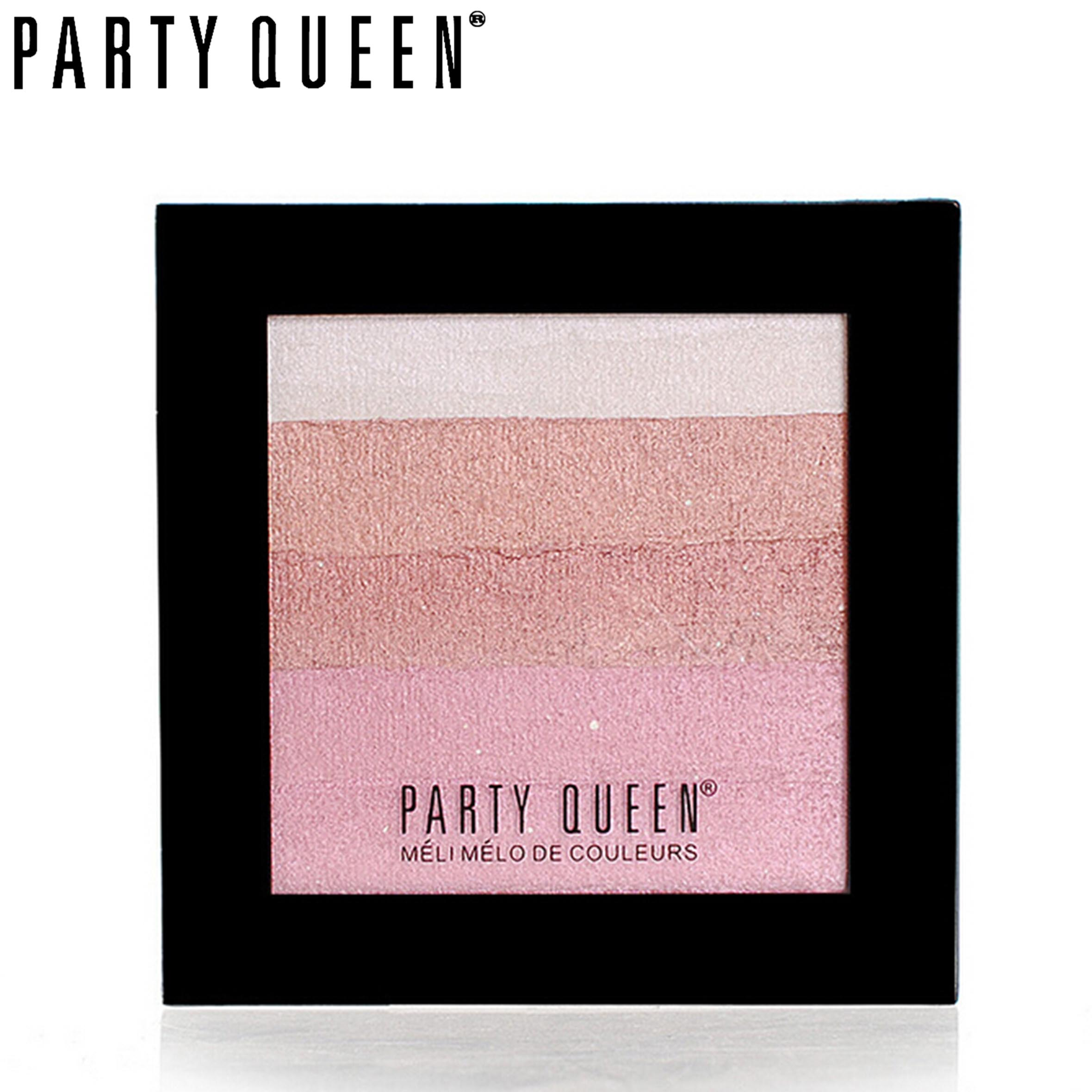 Party Queen 5 Colors Beauty Eye Shadow Makeup Shimmer Matte Eye Shadow Palette Set Cosmetic ...