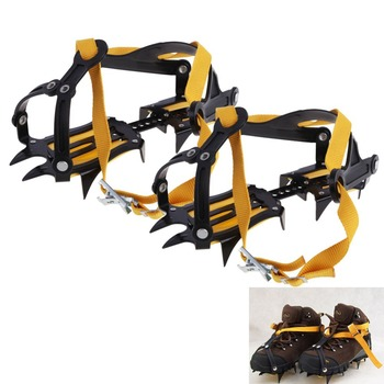 New Arrival Travel Kits Ski Snow Belt High Altitude Hiking Climbing Slip-resistant Strong Crampon Free shipping H1E1