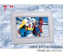 "7 "" single function digital photo frame,picture frame,electronic albums,electronic photo frame for gift 480 * 234 free shipping"