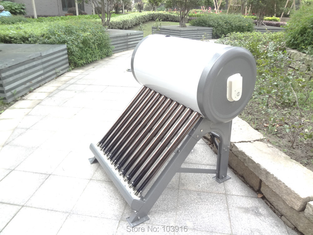 Non-pressurized compact solar water heater (220V 50 Liter) vacuum tube 47*700mm NEW(China (Mainland))