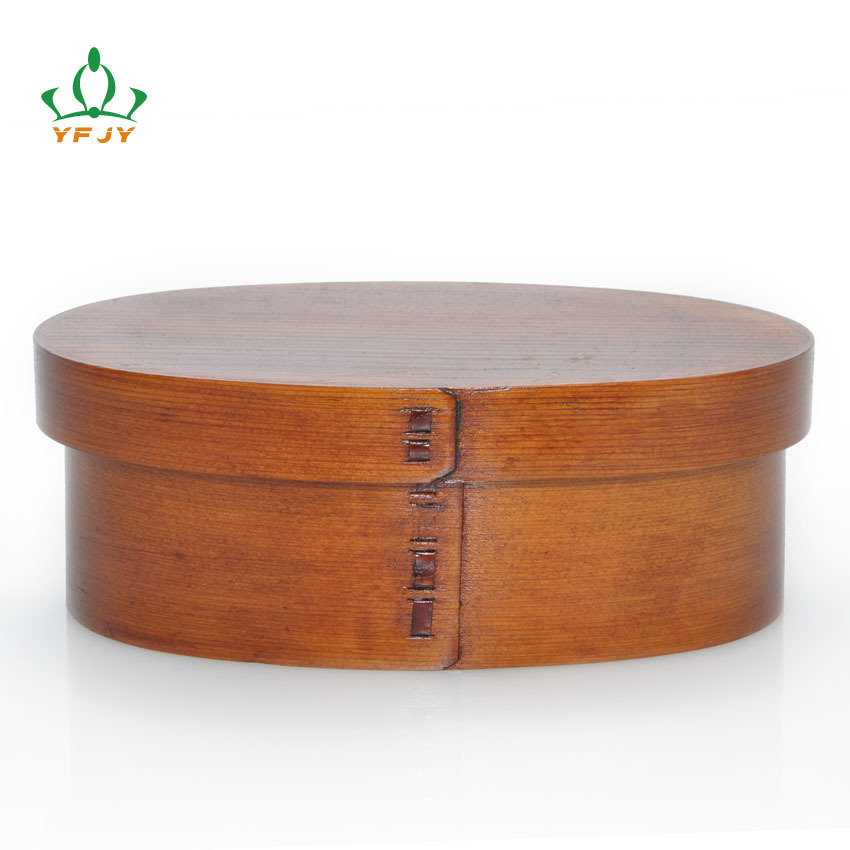 Creative Home Goods Crisper Korean Style Lunch Box /Bento Box/Bento/Natural Wood Cutlery /Food Container/Dinnerware Sets(China (Mainland))