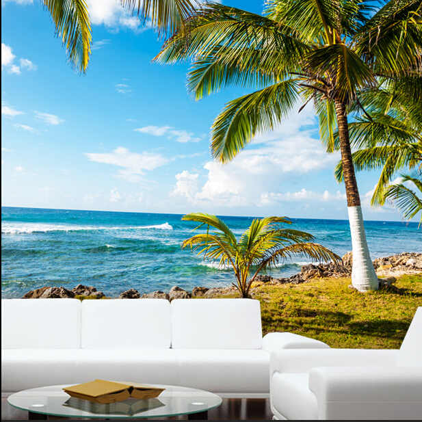 Acquista all 39 ingrosso online murale tropicale da grossisti for Foto murali 3d