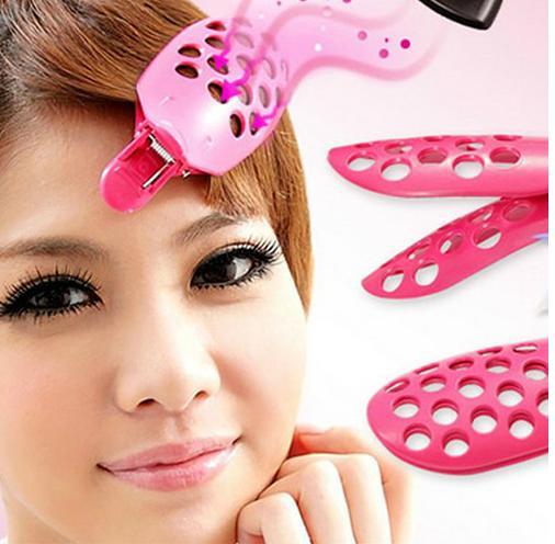 New Easy Women Fringe Bangs Hair clip Brush Tools DIY Modeling Hair beauty Tool(China (Mainland))