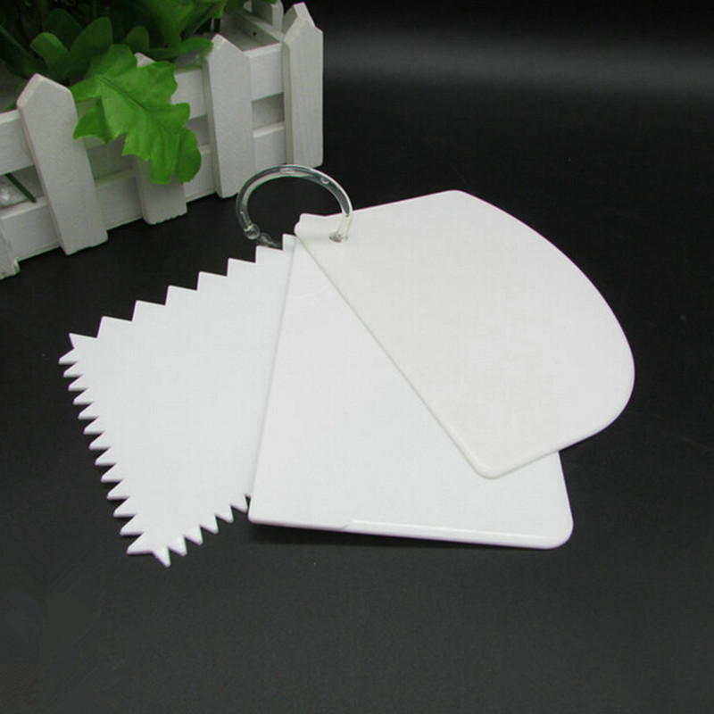 buy 3pcs set plastic cake decorating