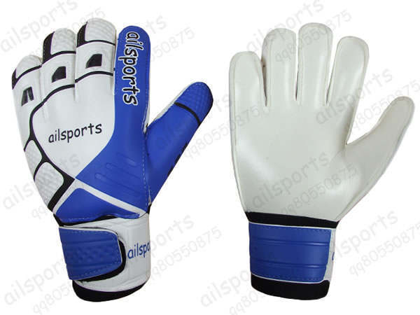 Free shipping latex soccer gloves goalkeeper gloves sports products
