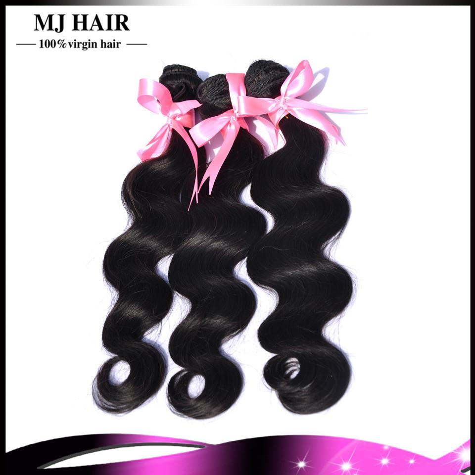 6A Unprocessed Brazilian Virgin  Hair Body Wave 3 Bundles Cexxy Hair Products Brazilian Body Wave Virgin Human Hair Weaves Cheap(China (Mainland))