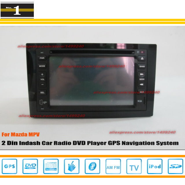 For Mazda MPV 1997~2010 - Car Radio Stereo CD DVD Player / HD Touch Screen Audio Video GPS Navigation System(China (Mainland))