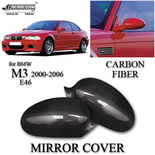 2000 Bmw M3: CAR DECORATIONS MIRROR COVER FOR BMW M3 E46 2000 2006