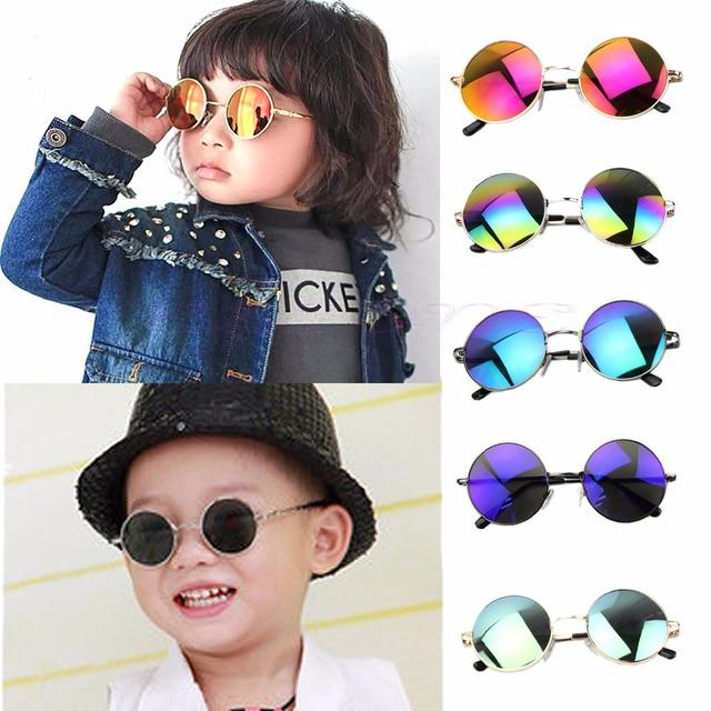 Мода мальчиков детей детская уф защитные очки очки солнцезащитные очки - бытовая электроника магазин