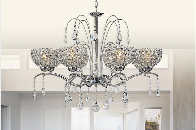 Luxury Foyer Chandeliers : Modern hanging crystal chandelier luxury foyer chandeliers