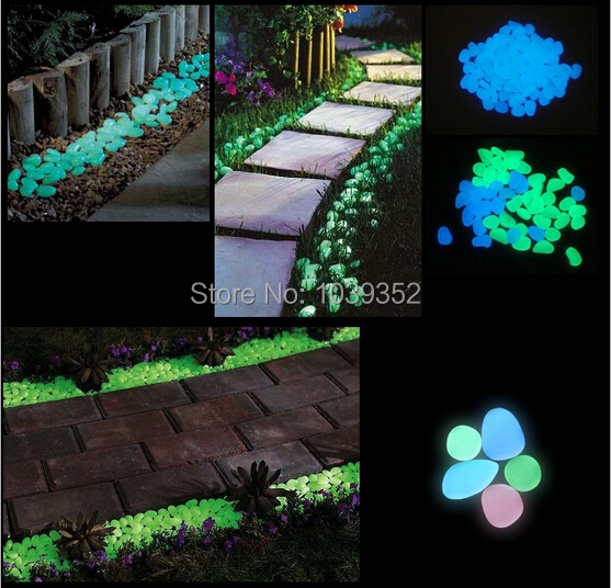 Decorative Craft Stones And Gravel : Colorful stones decorative glow gravel for your fantastic