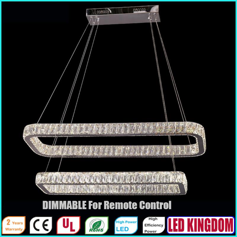 Modern LED Pendant Lights For Office Room Bedroom Cafe with Remote Control Ac100 to 240V LED KINGDOM LIGHTING<br><br>Aliexpress