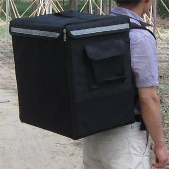Backpack food delivery bag,pizza insulated bag,big capacity pizza delivery bag,heat insulation delivery bag,keep hot, keep warm(China (Mainland))