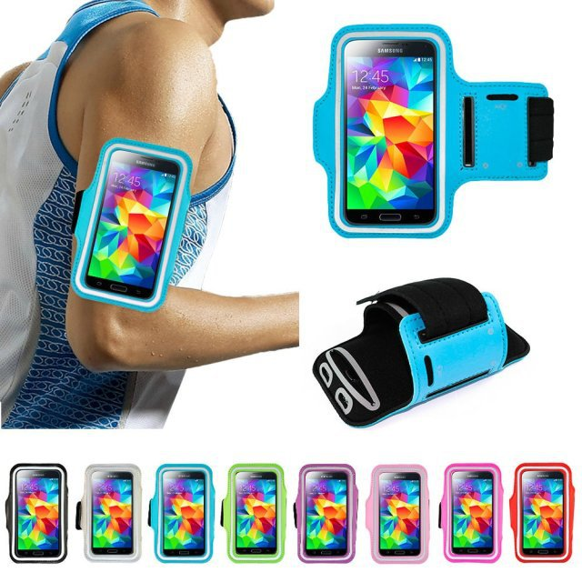 "Waterproof Running Sports Arm band Bag Holder Case for iPhone 6 for Samsung Galaxy S3 S4 S5 for 4.5-5.0"" Multi Phone Model(China (Mainland))"