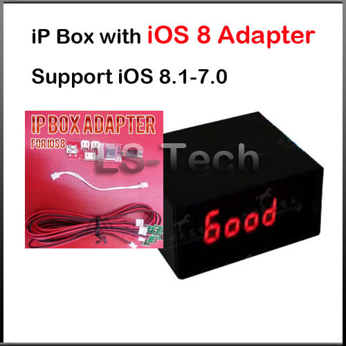 2015 Hot IP Box with iOS 8 Adapter Repair for 6G 5S 5C free shipping(China (Mainland))