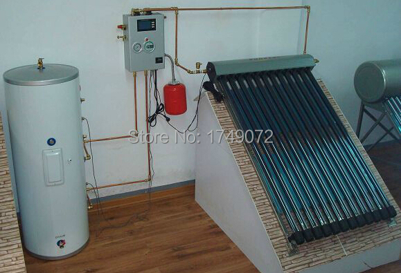 Split pressurized solar collector water heater 300L(China (Mainland))