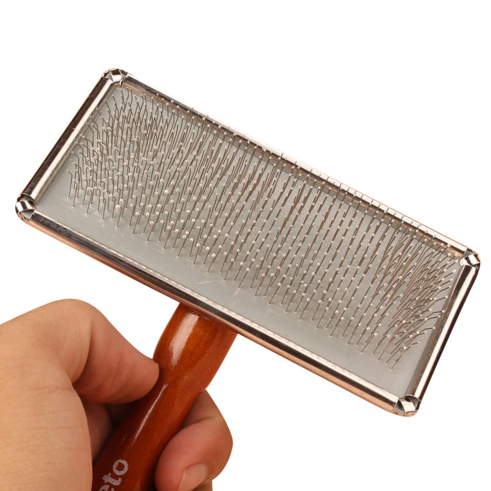 Small and Large Dog comb wood Pet Cat Hair removal comb multi-function Pet comb needle For Dog's(China (Mainland))