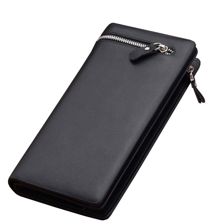 High Quality Mimco Men s Long Zipper Wallet Carteira Masculina Leather Men Wallets Business Brand Card