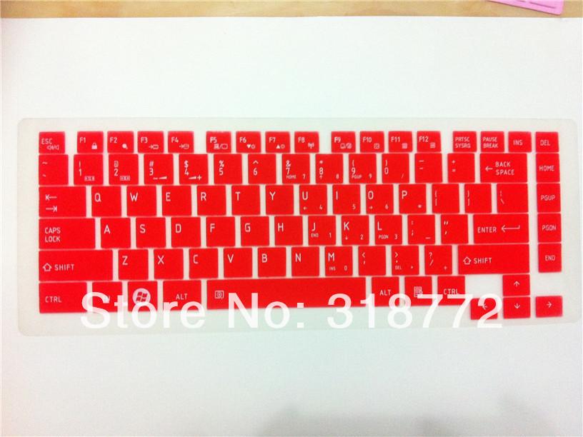 DHL 100PCS Backlit color Laptop Keyboard Cover Protective film Protector sticker for TOSHIBA L600,L600D,L630,C600D,L730,L700<br><br>Aliexpress