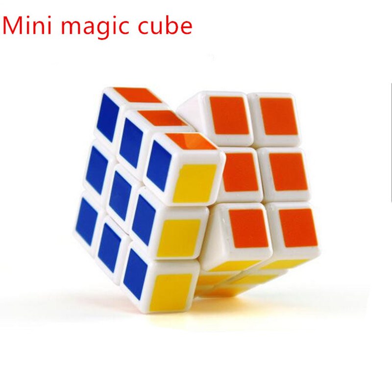 3CM MINI Magic Cube Easy 3x3x3 Speed Colorful Cube Magic Twist Puzzle Classic Toy Gift Education(China (Mainland))