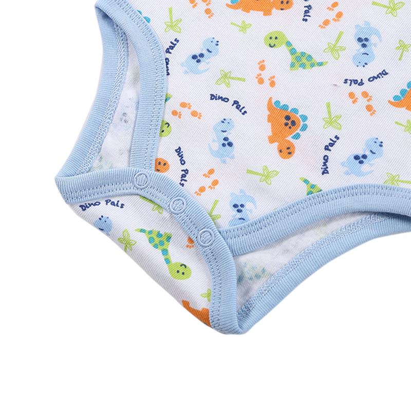 2017 New Mother nest Newborn 3 Sets 2 pics Bodysuits+1 pic Bib Baby Girls Clothes Body Infant Boys Bodysuit Summer Jumpsuit (2)