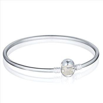 Горячая мода браслеты 925 стерлингового серебра застежка шарм браслеты браслеты приспособленный ...