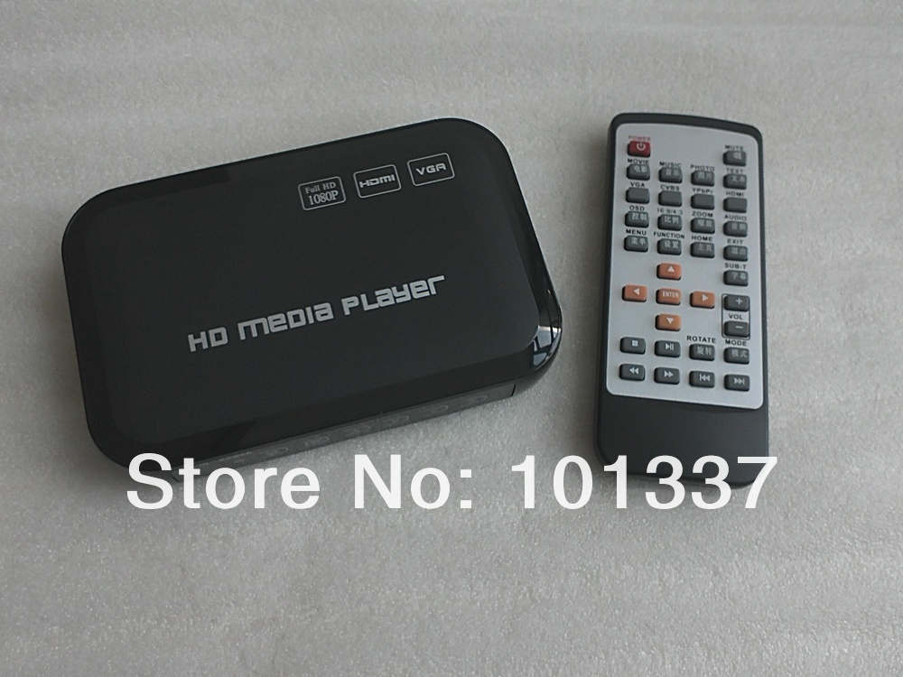 Full HD 1080P Car Media Player HDMI,VGA AV output,HD TV SD/MMC Card reader/USB Host,Free Car adapter AV Cable and Free shipping!(Hong Kong)