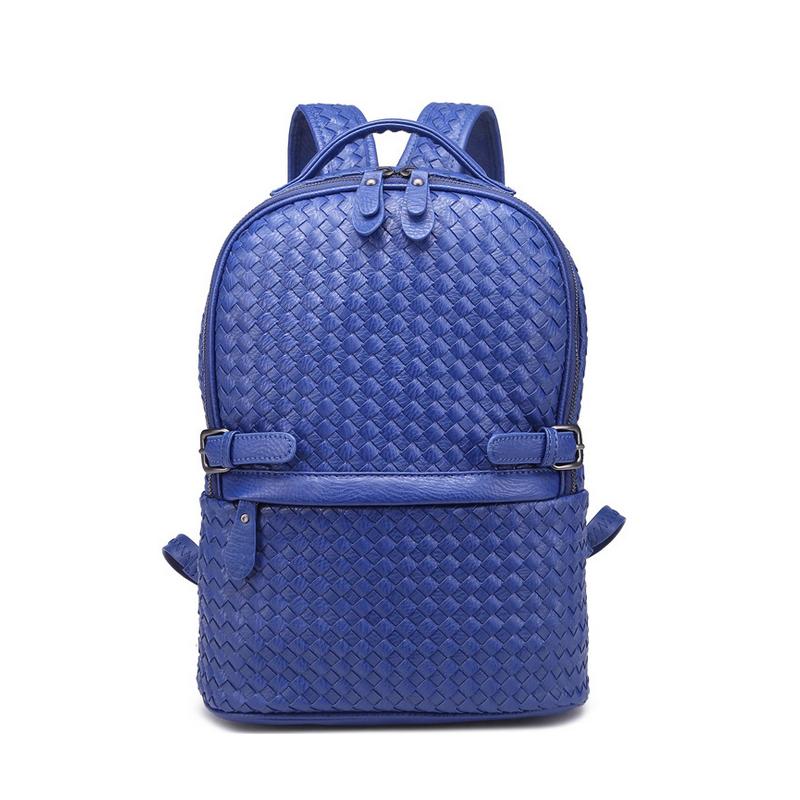 2016 New Design Women Handmade Back Pack Weave School Bags For Girls Female Outdoor Hiking Bagpack Female Kniting Bag