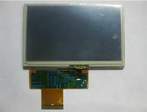 Original 4.3 inch Shinco gps and CMMB dedicated LG display screen with touch screen LB043WQ1-TD01,free shipping(China (Mainland))
