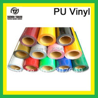 TJ High-Quality t-shirts PU Heat transfer film(width=0.5meter) 27 colors
