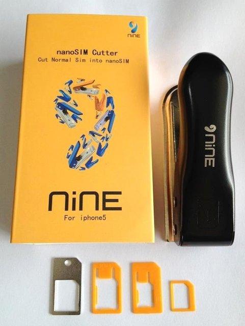Regular standard full SIM card to Nano SIM Card Cutter + 2 Free adapters