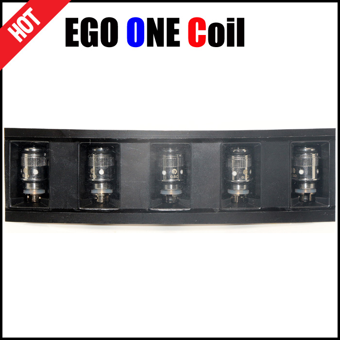 Coil head for EGO ONE atomizer 1.8ml 2.5ml 4ml EGO ONE mega Electronic cigarette core unit(China (Mainland))