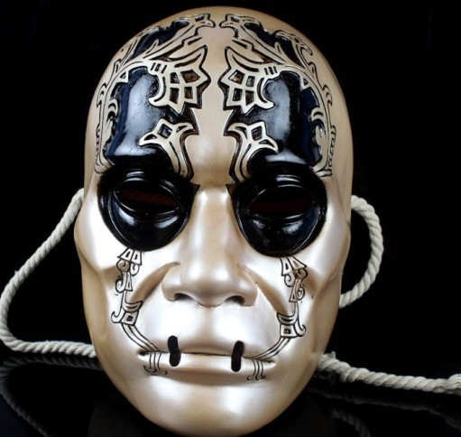 Resin Harry Potter Death Eater Mask Hand Made Replica Cosplay Halloween Gift Masquerade Masks - Wendy's Store 518562 store