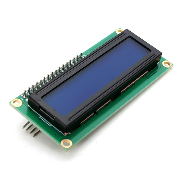 IIC/I2C 1602 Backlight LCD Display Module Blue Screen Controller For Arduino Power Supply Voltage +5 v(China (Mainland))