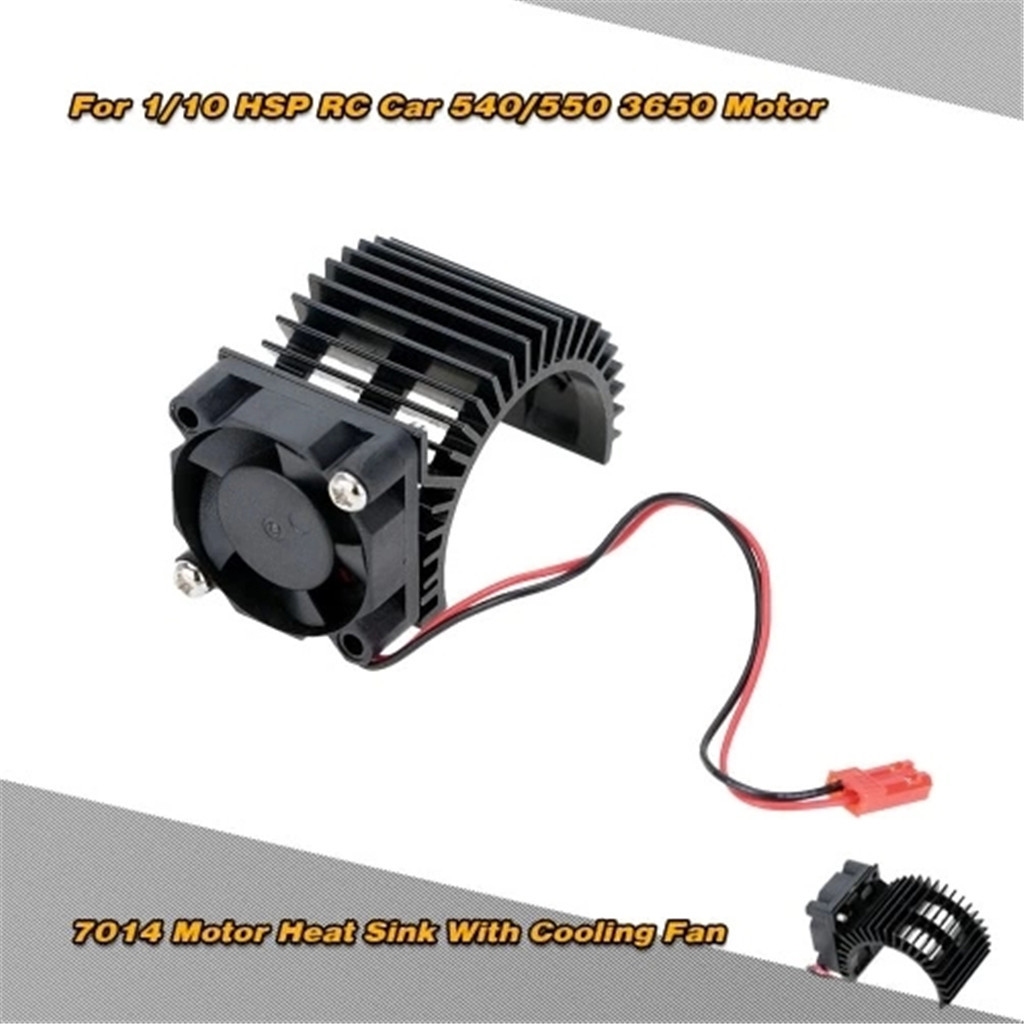 Cooling Fan DC 5V JST Connector Silver For Redcat 1:10 Motor Heat Sink 540 550