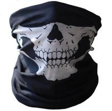Skull Bandana Bike Motorcycle Helmet Neck Face Mask Paintball Ski Sport Headband Scarf(China (Mainland))