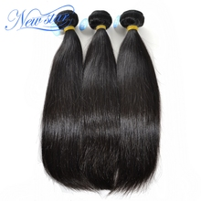 new star hair 6-star 100% virgin hair weave Peruvian virgin hair excellent bundles Peruvian straight hair extensions 3 bundles(China (Mainland))