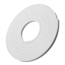 Hot 3D Printer PU With Steel Core Gt2 Timing Belt 6mm Width 5m A Pack Thermoplastic Polyurethane Anti-wear Reinforce Open Belt(China (Mainland))