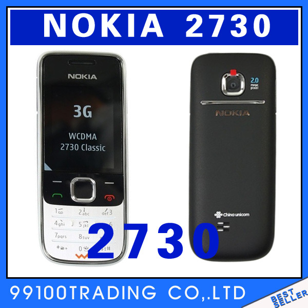 Original unlocked Nokia 2730 Good quality Classic mobile phone Super-long standby multilingual Free Shipping Refurbished(China (Mainland))